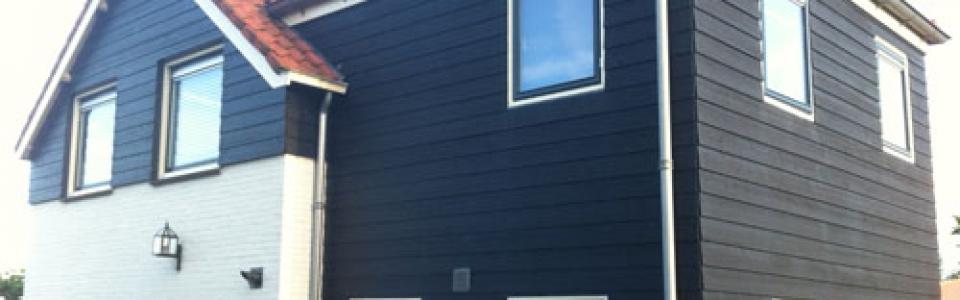 Western Red Cedar Potdeksel Zweeds rabat zwart gevelbekleding Cedarland