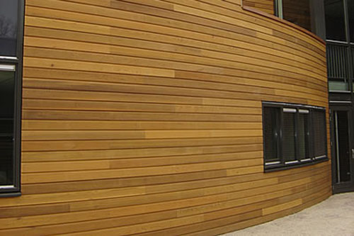 Western Red Cedar Halfhoutrabat No.2 Clear and Better gevelbekleding Cedarland