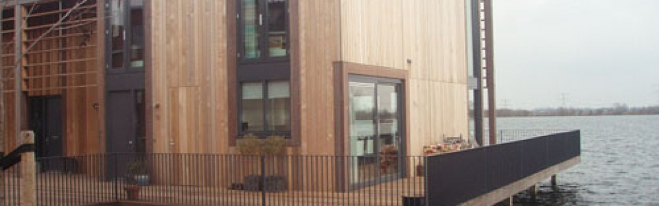 Western Red Cedar Channelsiding No.2 Clear and Better gevingerlast